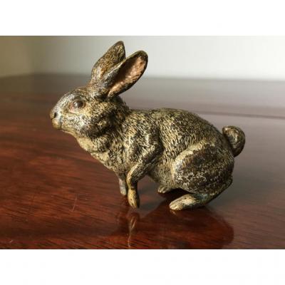 Bronze De Vienne ,lièvre