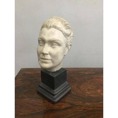 Marble 40's Bust