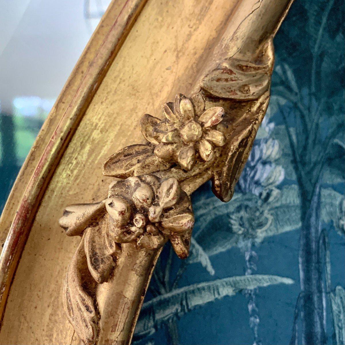 Miroir Style Louis XV - Rocaille - Epoque Napoléon III-photo-1
