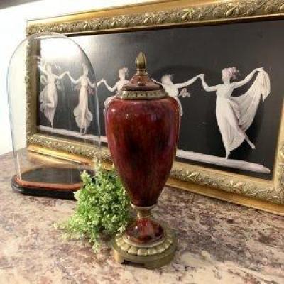 Vase Couvert Paul Millet