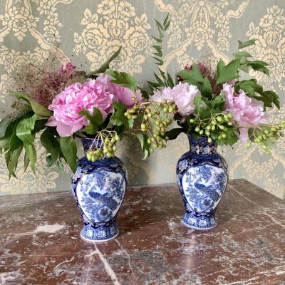 Vases En Paire Porcelaine KAISER