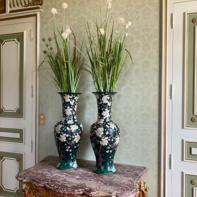 Pair Of 19th Century China Vases