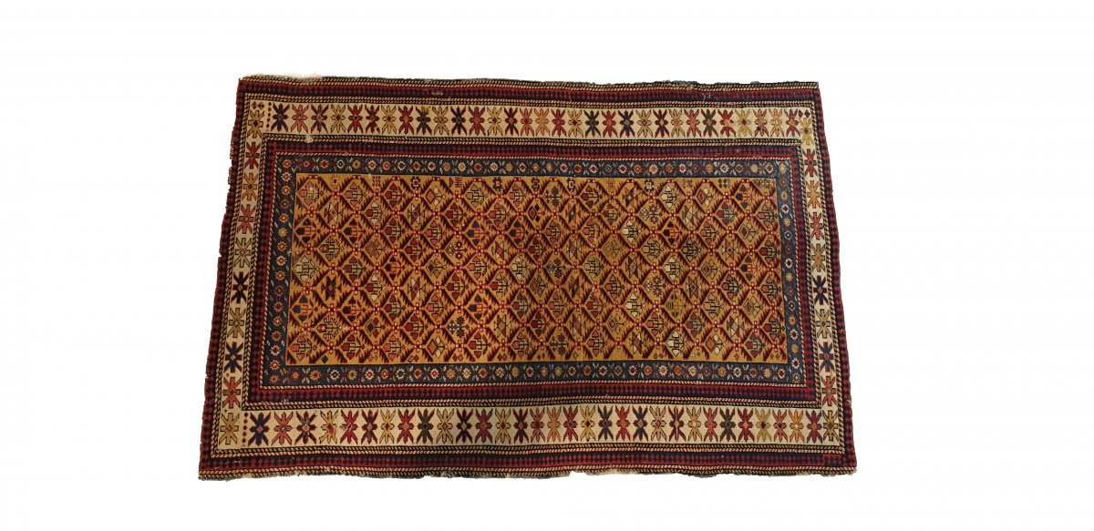 Dagestan Rug Russian  19th Century 59.05 In. X 37.40 In.