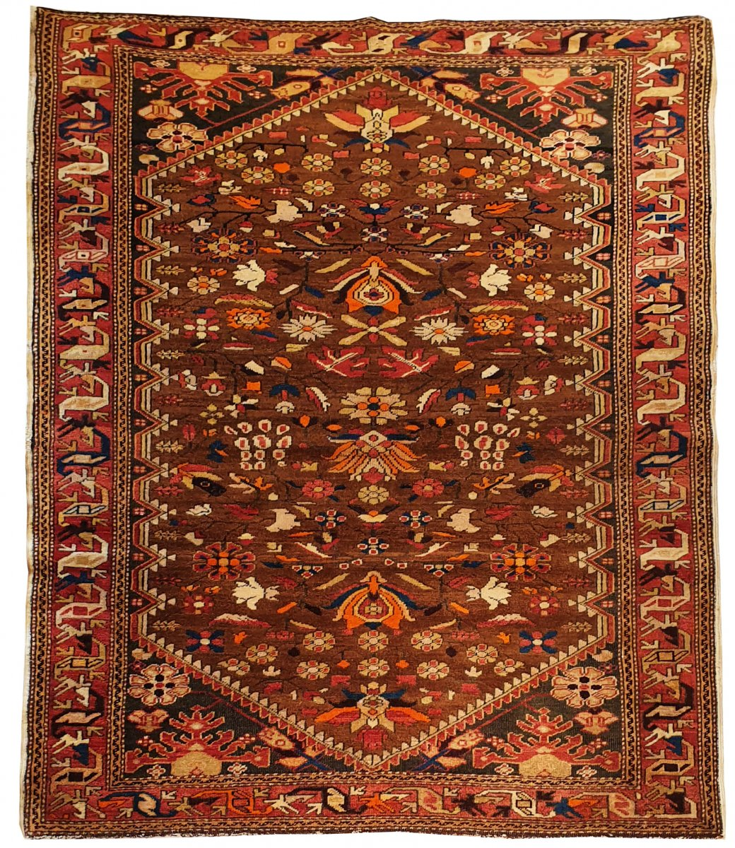 732 - Caucasian Rug From The 20th Century