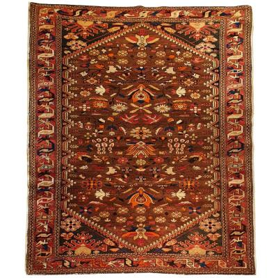 Caucasian Rug From The 20th Century