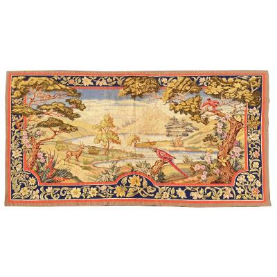 French Aubusson Tapestry, 19th Century