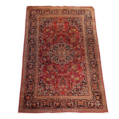 731 - Persian Carpet From Kachan 20th Century 210 X 135 Cm