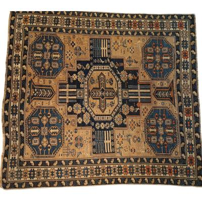 637 - Shirvan Carpet From The End Of The 19th Century