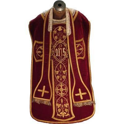 829 - French Chasuble 19th Century