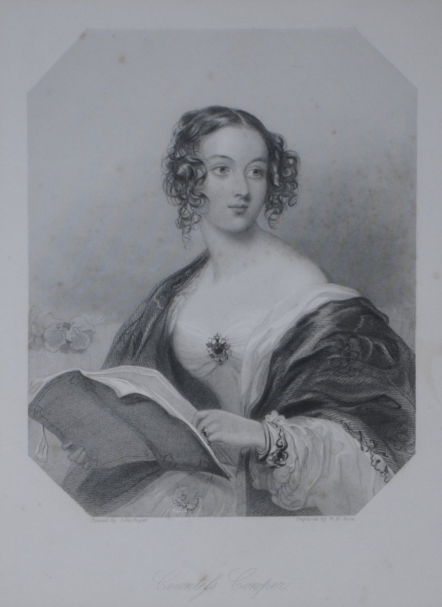 Emily Mary, Countess Cowper