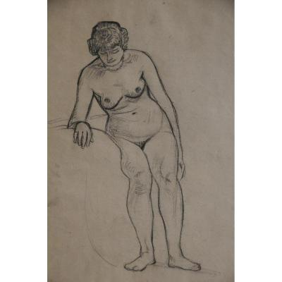 Study Of Naked Woman