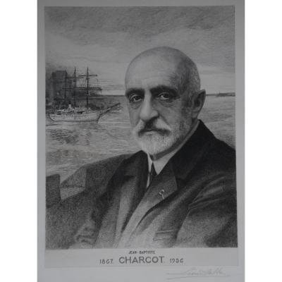 Engraving From Commander Charcot