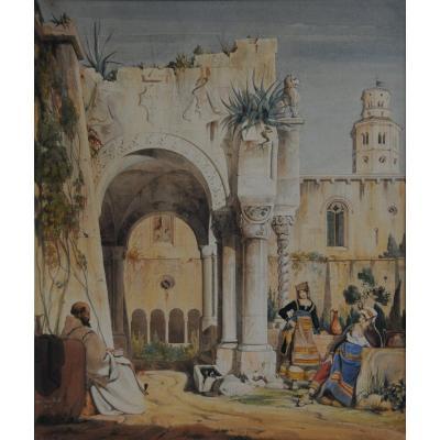 Italian Girls In A Monastery