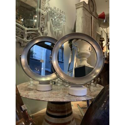 Paire De Miroirs Sergio Mazza