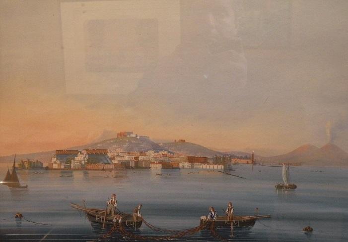 """""""le Vésuve Et La Baie De Naples"""""""