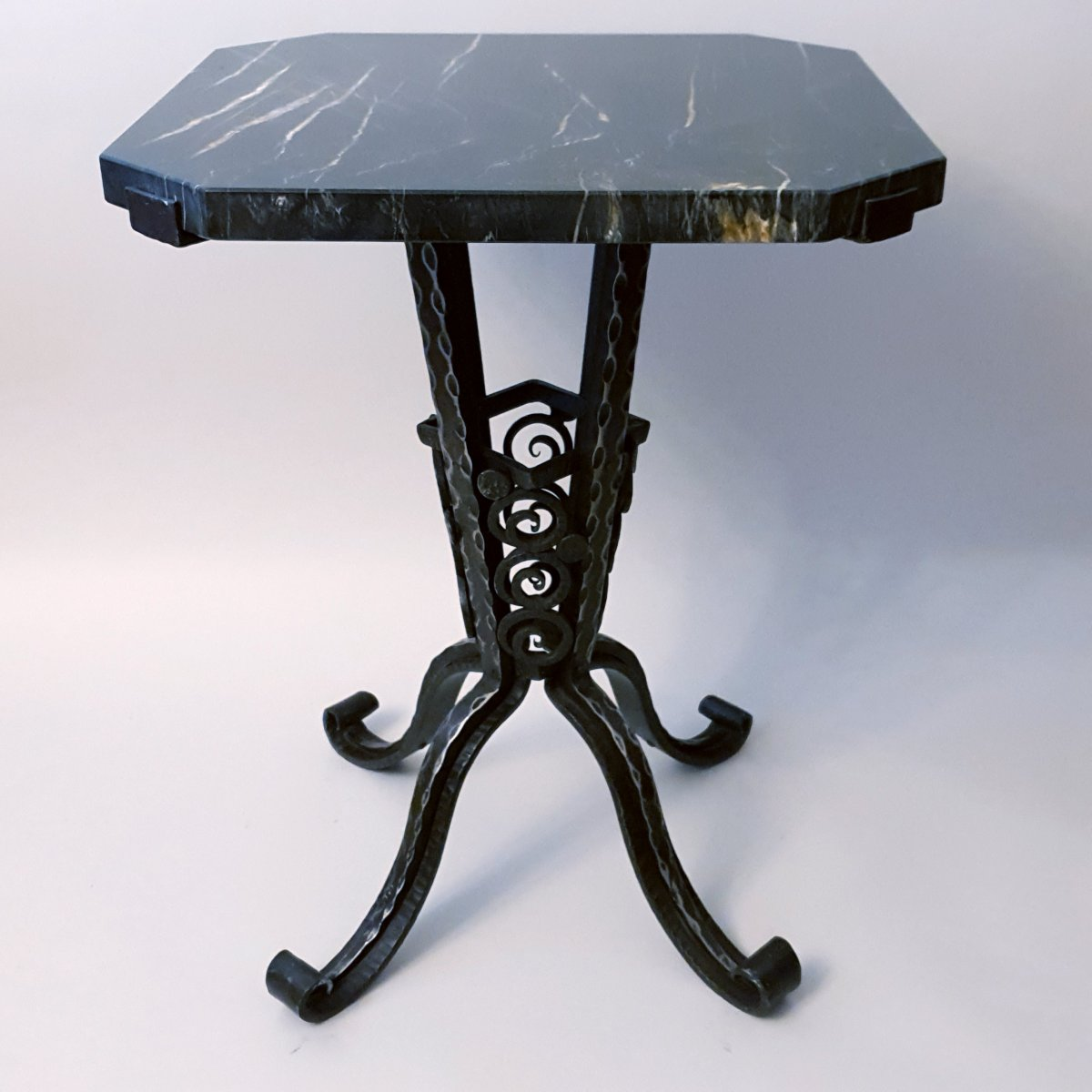 Art Deco Wrought Iron Table