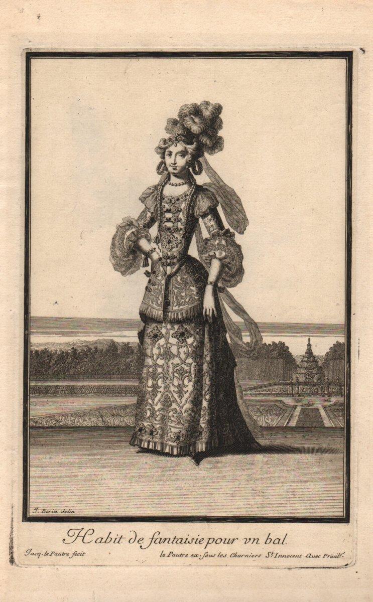 Jacques Lepautre: Dancer In Costume Of Fantasy