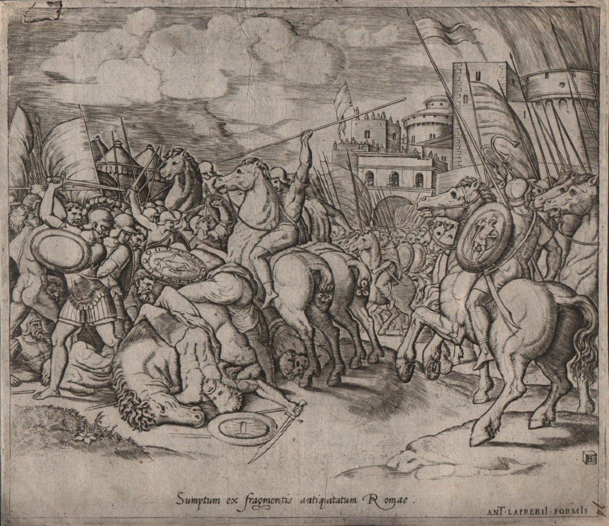 Bernardo Daddi: The Victory Of Scipio On Syphax