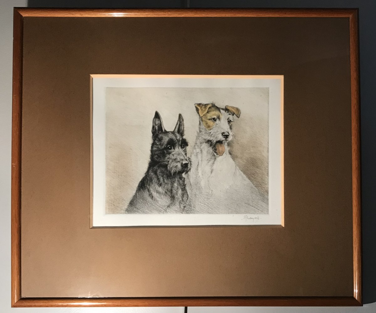 Etching In Colors: Scottish And Fox