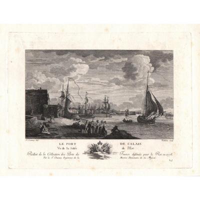 Gaetano Testolini  d'Apres Nicolas Ozanne : Le Port De Calais