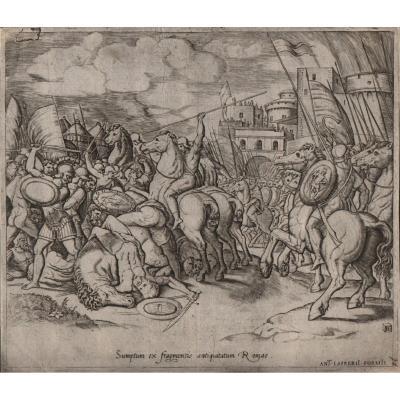 Bernardo Daddi : La Victoire De Scipion Sur Syphax