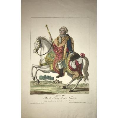 Estampe éditée Chez Jean : Louis XVI