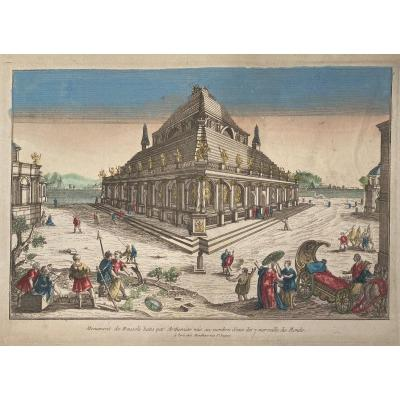 Vue d'Optique XVIIIè : Le Temple d'Artémis