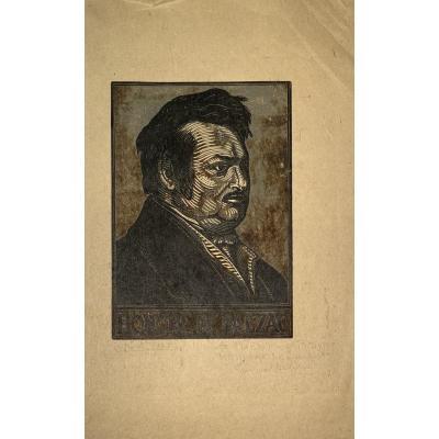 Portrait De Balzac