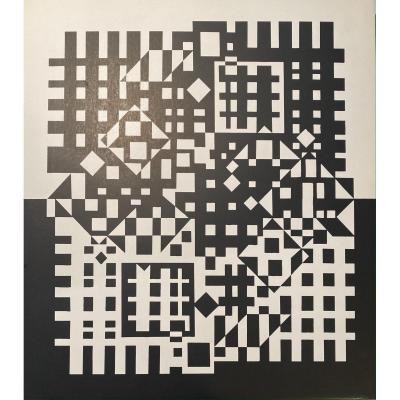 Serigraphie Originale De Victor Vasarely : Pillich 2