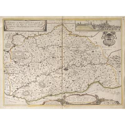 Carte Ancienne XVIIè :  Diocese d'Alby
