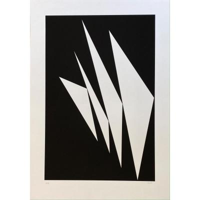 Serigraph Signed By Geneviève Claisse