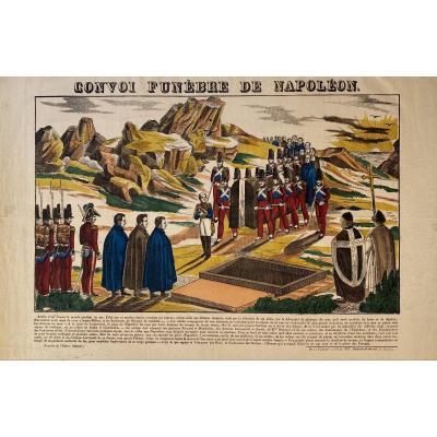 Imagerie De Pellerin à Epinal : Convoi Funebre De Napoleon