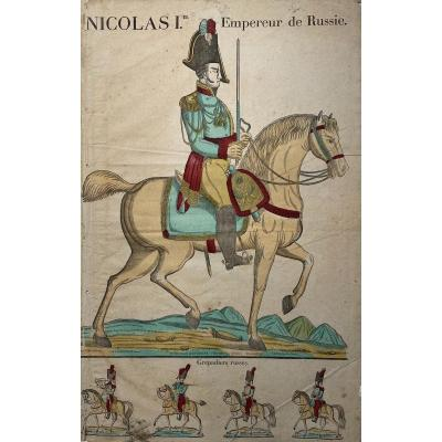 Great Imagery From 1829: Nicholas I Emperor Of Russia