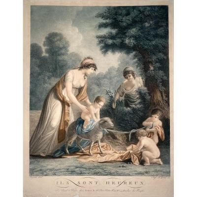 Etching Printed Colors Early Nineteenth By Legrand