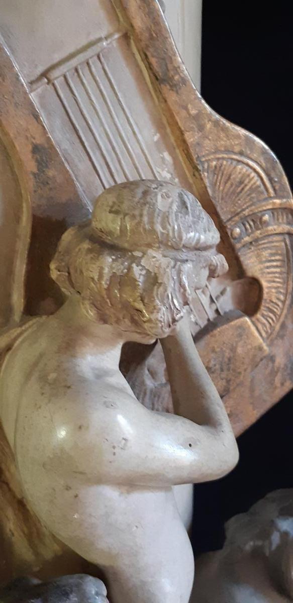 Lavergne & Goldscheider: Vase Orphee Circa 1898-1899 (79cm-photo-3