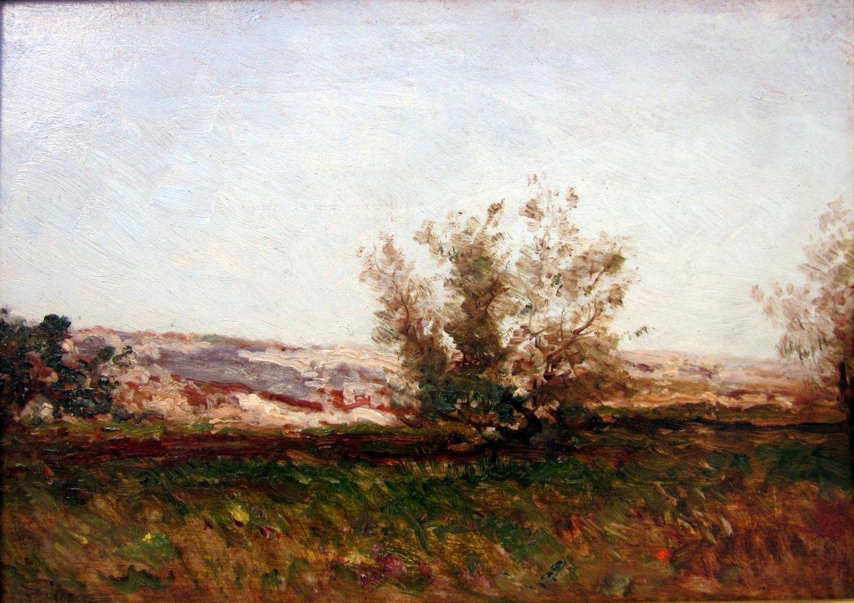 Félix Ziem (1821-1911) Paysage Provençal