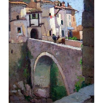 Maurice Martin (1894-1978) Entrevaux