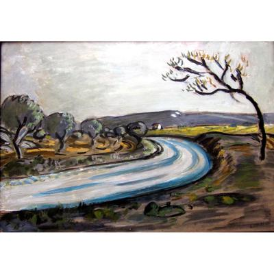 Auguste Chabaud (1882-1955) Route In The Alpilles