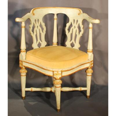 Office Chair Sweden Late 18th Century