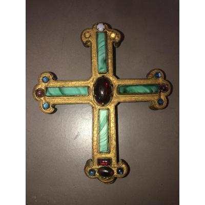 Croix Néogothique Orfèvrerie