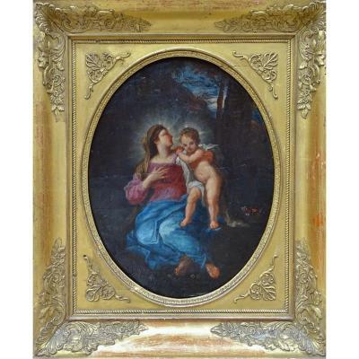 Pierre-Jacques Cazes (1676-1754) - Vierge à l'Enfant