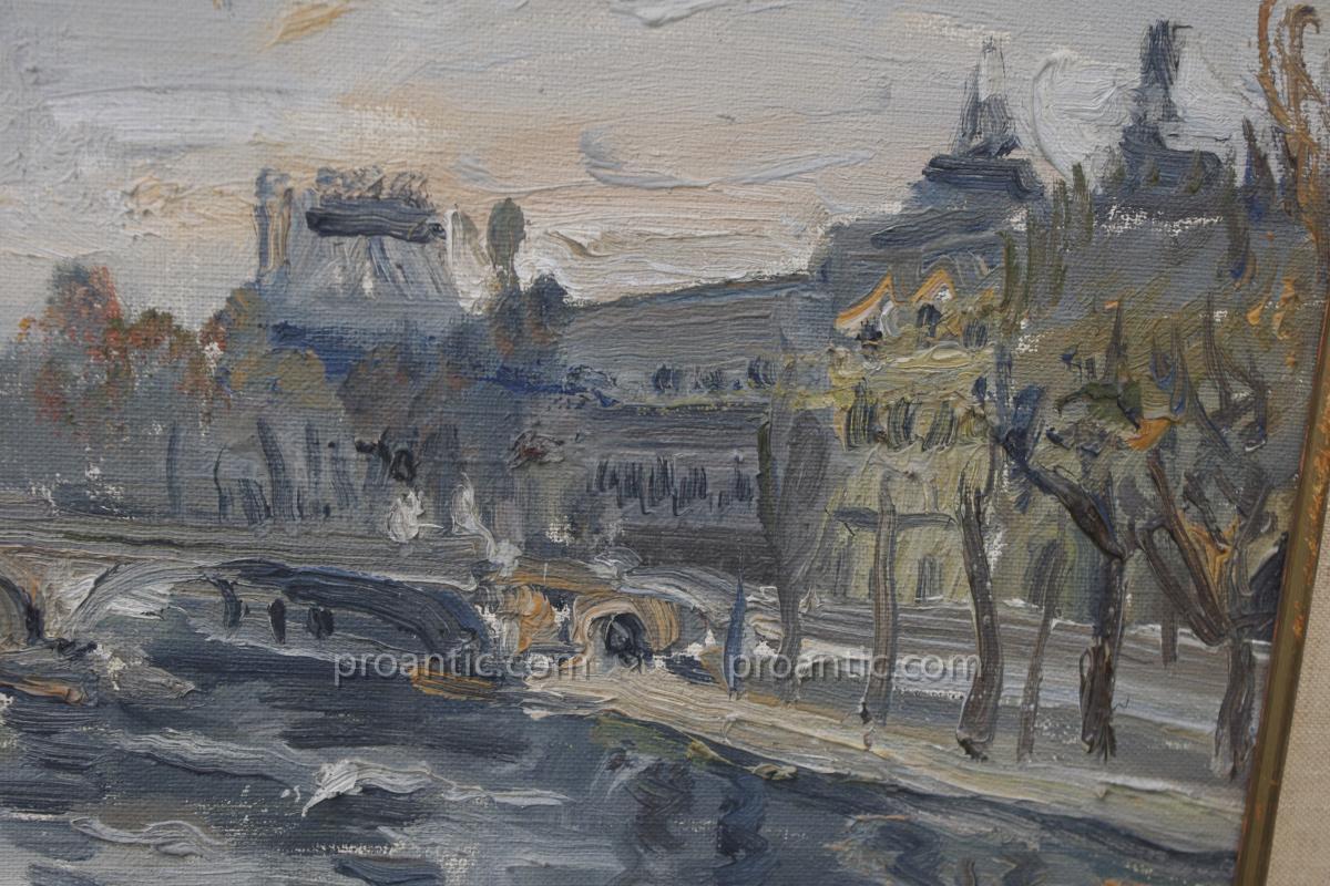 Wlodzimierz Zakrzewski ,paris Le Louvre , Polonais