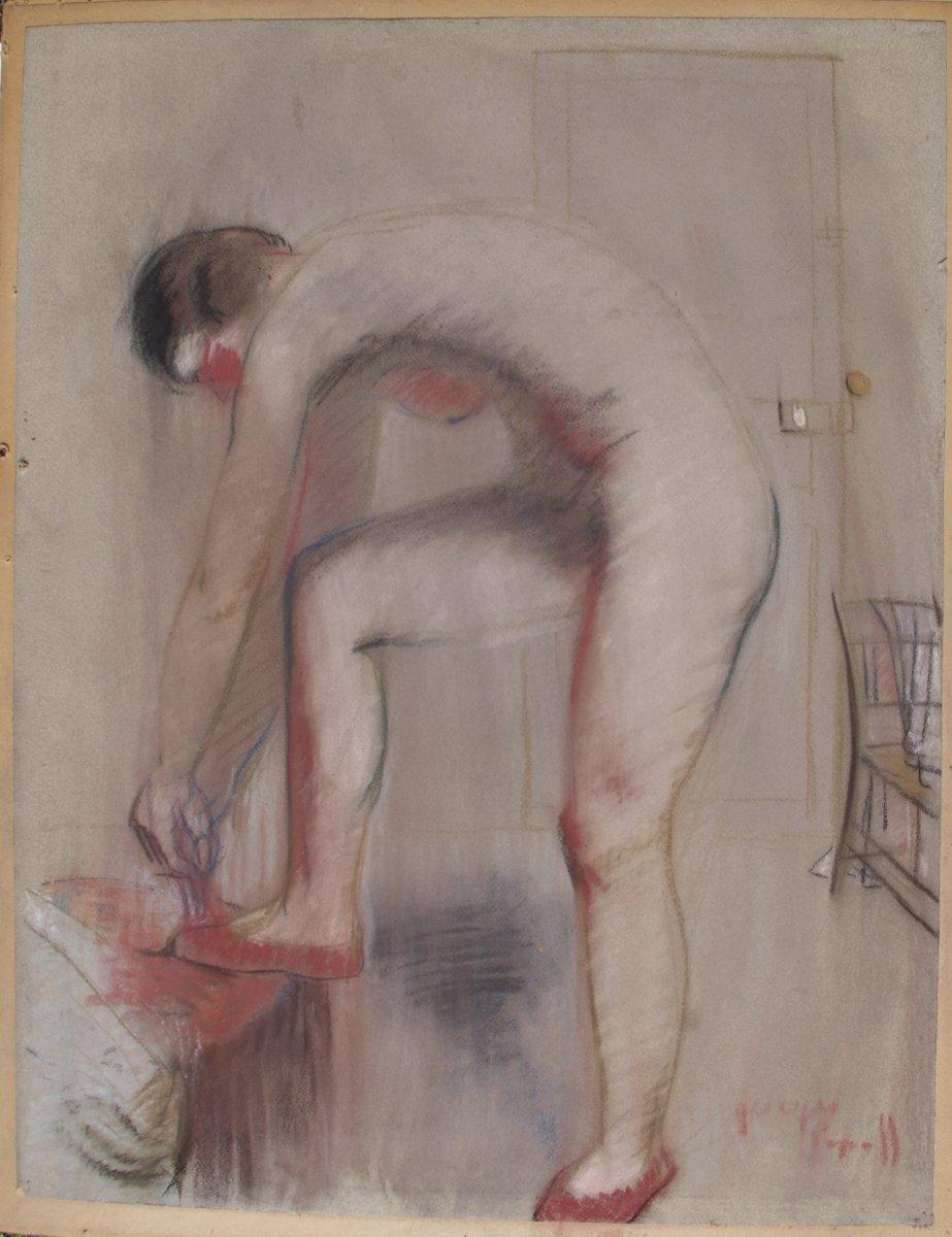 Georges Popoff, Nude At La Toilette