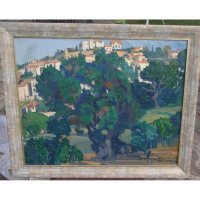 Frédéric Marius De Buzon (1879-1958) View D Algiers 1925