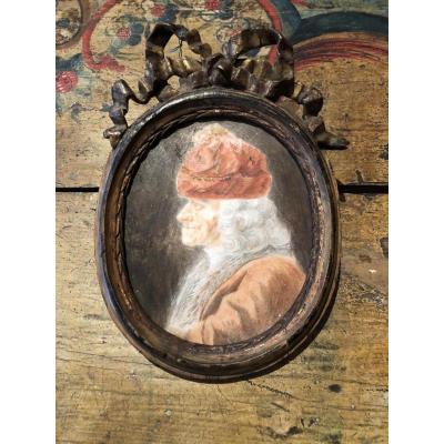 Portrait De Voltaire, Fin XVIIIe, Peinture