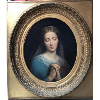 A. Legrand, The Virgin In Bust, Nineteenth Century