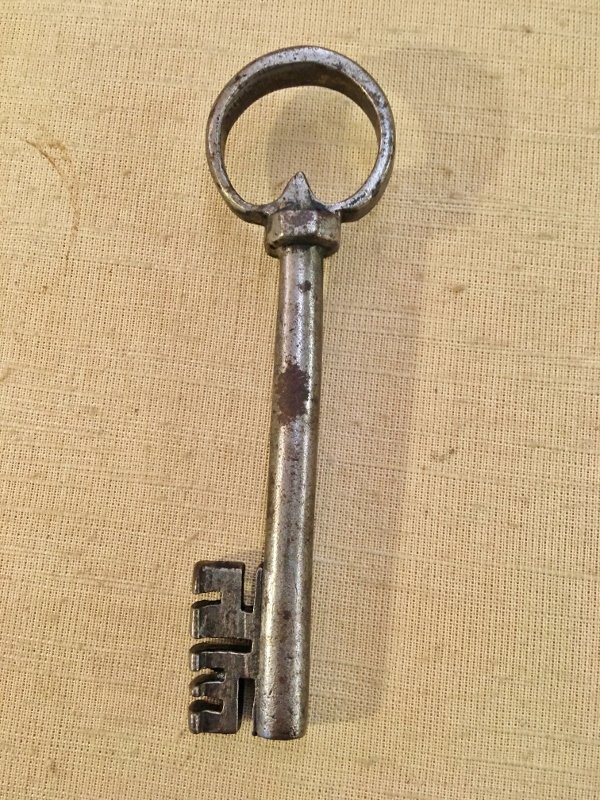 Very Nice Wrought Iron Wrench Of The 18th Century