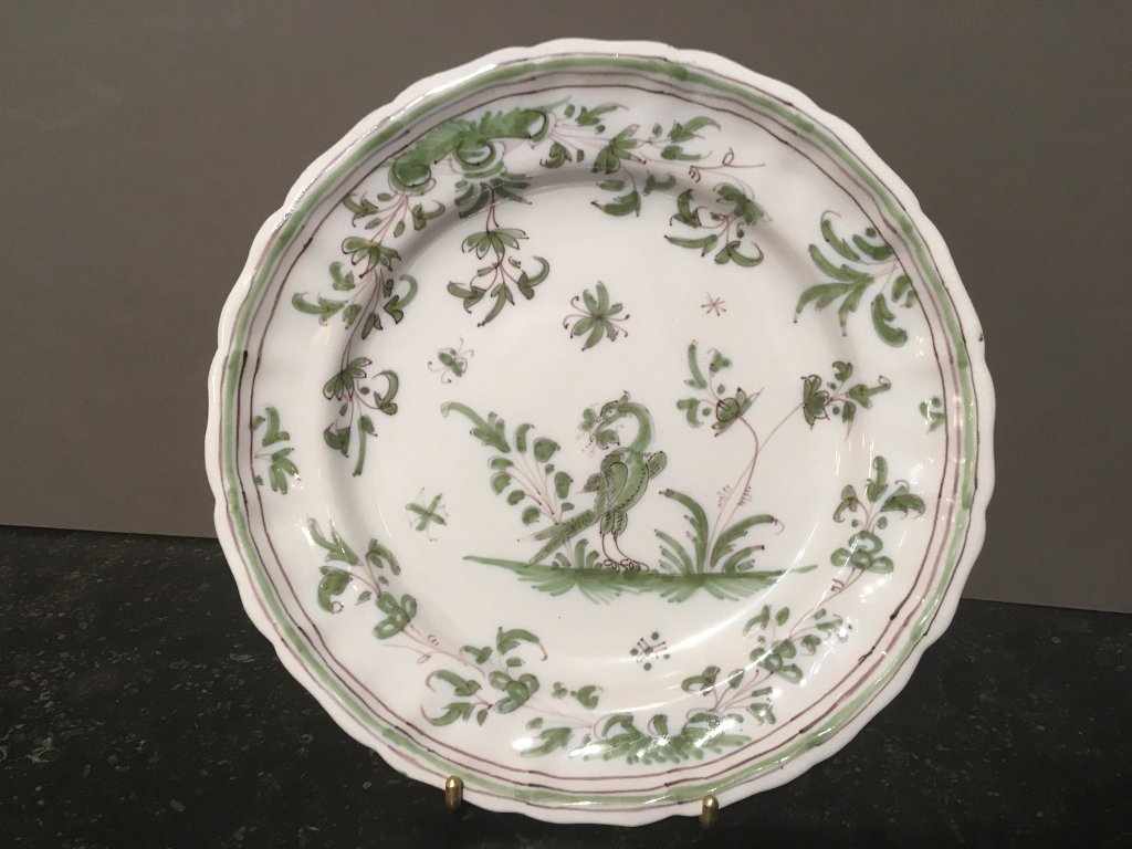 Plates Hollow In Earthenware Of Moutiers 18 Eme Century
