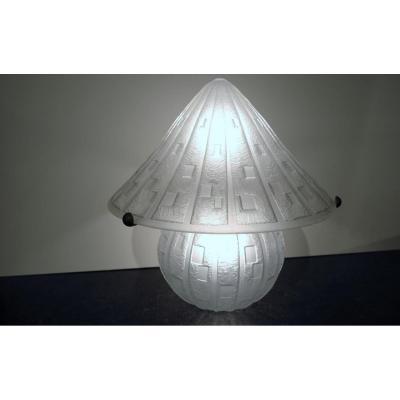 Lampe champignon Daum Nancy