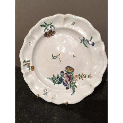Earthenware Plate From Hölitsch 18 Th Century